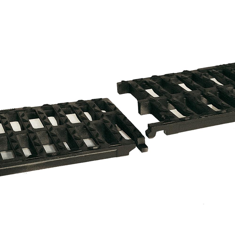 Kanálkové mříže AUTOLINEA ® C250 a D400 spojované litinovou pružnou západkou