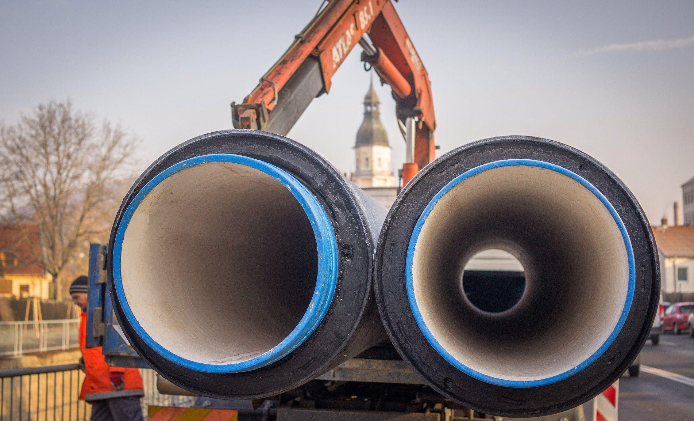 Potrubí s tepelnou izolací vhodné do země