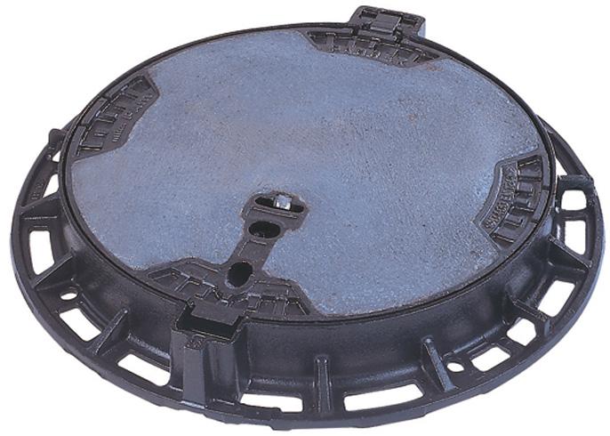 PAMREX 600 šachtový poklop - víko s betonovou výplní