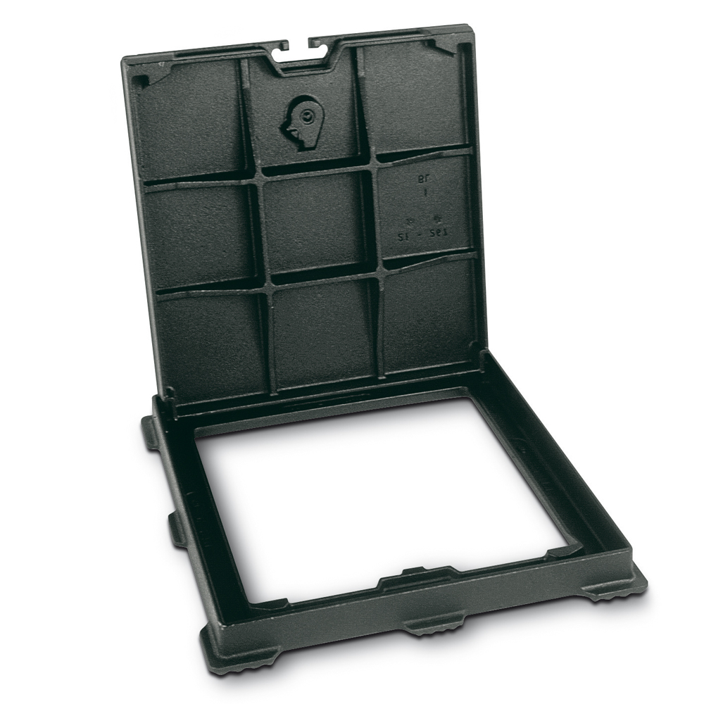 PARXESS ® - Frame with cover opened
