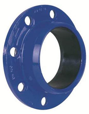 Přírubový adaptér pro trubky BLUTOP a PVC bez zámku