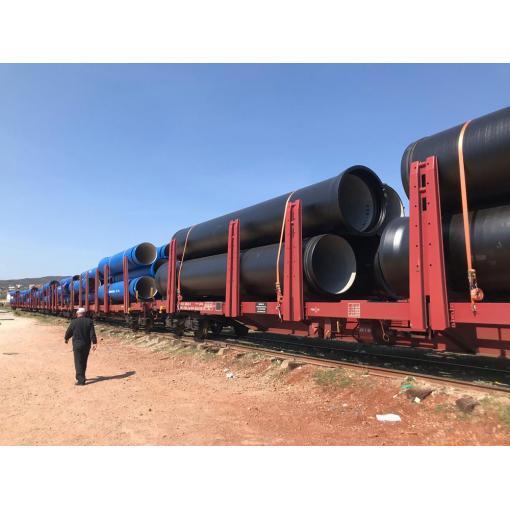 CLASSIC trubky přepravované vlakem
