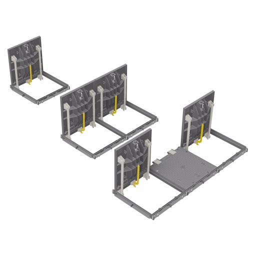 PAMETIC - vodotěsný a pachotěsný poklop F900 - Snadné a bezpečné otevření pomocí manipulačních klíče
