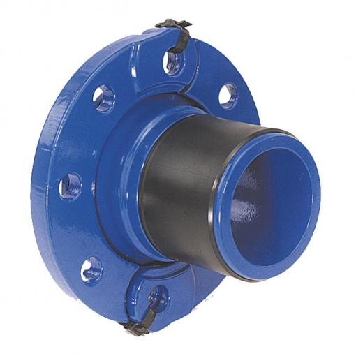 Quick PE: mechanical anchoring flange adaptor for polyethylene pipe