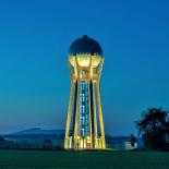 Věžový vodojem v Ohrazenicích u Turnova