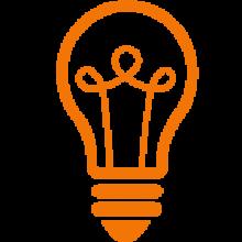 picto-žárovka orange