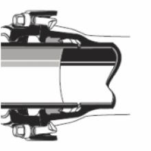Zámkový spoj V+i - trubky a tvarovky z tvárné litiny - Saint Gobain PAM