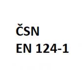 Klasifikace dle ČSN EN 124-1