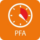 Dovolený provozní tlak PFA