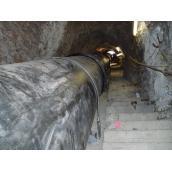 Pokládka v tunelu, kolektoru