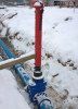 Šoupě EURO 20 s post indikátorem - instalace v zimě