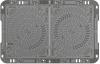 Pravoúhlý poklop D400 z tvárné litiny OPT-EMAX