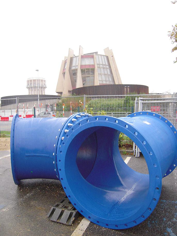 EUROSTOP - uzavírací klapka - uzávěř - voda - Saint-Gobain PAM