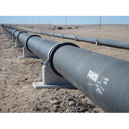 Vodovodní potrubí pro důl Husab, Namibie